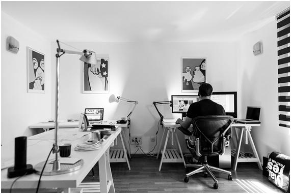 Buenas ideas antes de amueblar la oficina en casa.