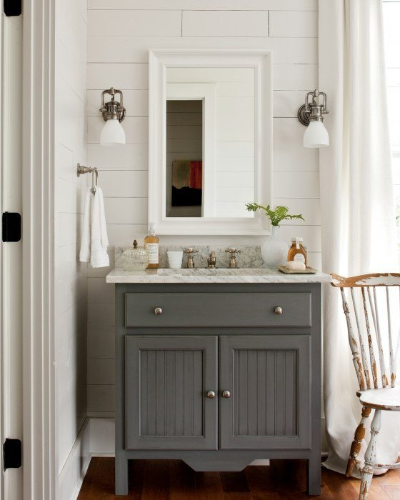 Best 25 Gray Bathroom Paint Ideas On Pinterest: APLIQUES DE PARED PARA EL BAÑO