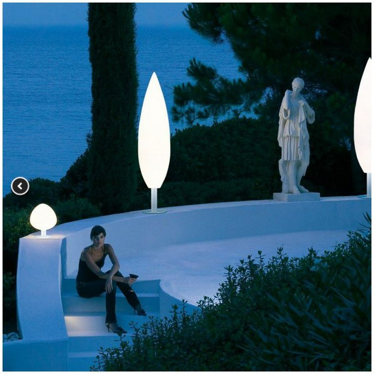 SWIFTLY THE GARDENS ARE TO BE PREPARED AGAIN TO ENJOY THEM, SO WE LEAVE YOU IDEAS FOR OUTDOOR LAMPS