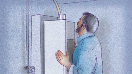 C mo instalar un calentador - Instalacion calentador gas natural ...