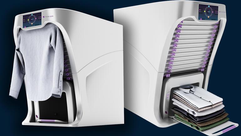 Foldimate secadora planchadora autom tica - Planchadora de camisas ...