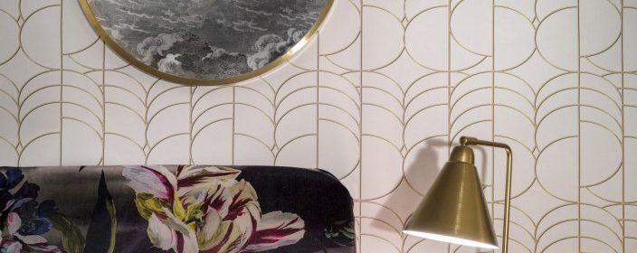 El papel pintado vintage es máxima tendencia en decoración