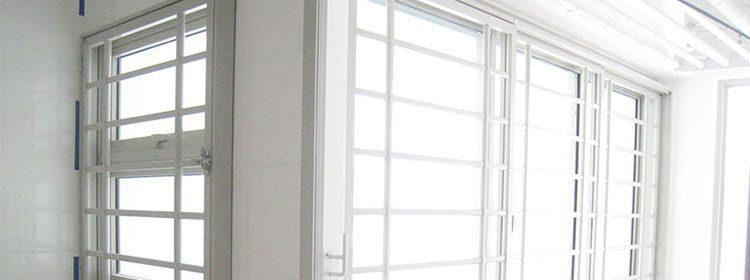 rejas de aluminio para ventanas