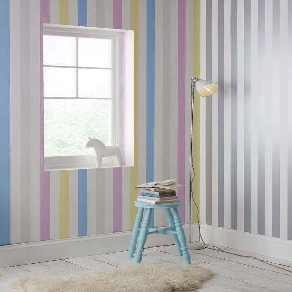 papel pintado de rayas