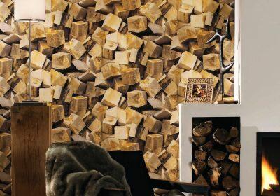 Papel pintado efecto madera, transforma tu hogar